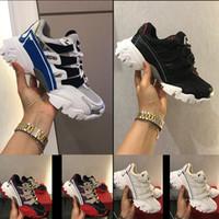 Wholesale sky blue ladies shoes resale online - Hot new shoes RUN designer ladies men s casual leather mesh casual shoes