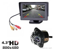 Wholesale wireless parking cameras for cars resale online - Selling Inch TFT LCD Car Monitor Display Wireless Cameras Reverse Camera Parking System for Car Rearview Monitors