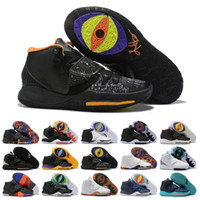 Wholesale red ankle high shoe boots for sale - Group buy Taco PE Kyrie Black Magic VI KI6 Mens Basketball Shoes Irving s Zoom Sport Training Sneakers High Ankle Baskets Shoe Size