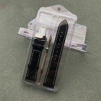 correas de reloj de plastico al por mayor-Caja de embalaje de la correa de plástico transparente Caja de almacenamiento de la correa de reloj Caja de regalo Caja de protección Contenedor Envase Envío rápido ZC1076