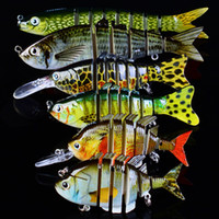 Wholesale fishing lures sets resale online - New Arrival Set x x6 Sections Fishing Lure Fishing Hook Swimbait Fishing bait Artificial Bass Baits