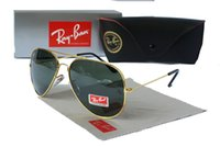 Wholesale real sunglasses online - Real Pricture New Vintage Sunglasses Pilot RAY Men Women UV400 Band Polarized BEN Gafas Mirror Lenses Sun Glasses BANS with cases