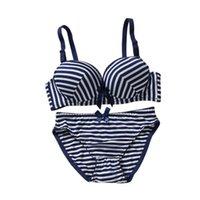 poitrine de fibre achat en gros de-Summer Academy Wind Light Stripes Sous-vêtements de soutien-gorge en fibre de carbone en bambou à 3 bouts