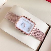 Wholesale glass dresses for sale - Group buy Fashion Lady Quartz Watch Elegant Women Dress Relogio Famous hot sale Rose gold Stainless Steel Gold Wristwatches