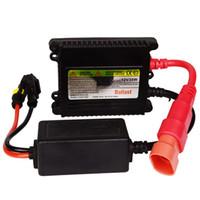 xenon far konvertör kitleri toptan satış-2X12 V 35 W HID Xenon Balast dijital HID Dönüşüm Kiti Xenon Araba far oto lamba DHL Ücretsiz Kargo