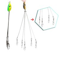 Wholesale lures rigs for sale - Group buy Outdoors Convenient Fish Lures Rigs Swivel Fishing Hook Stainless Steel Equipment Multifunctional Fishing Tackle Combination