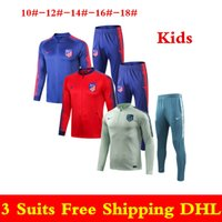 70a2a8cd526713 Best selle newest 18 19 Atletico Madrid tute per bambini 2019 rosso blu  Costa sportwear Griezmann tuta da allenamento Atletico child jacket