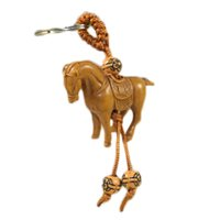 niedliche punkschmucksachen großhandel-New Fashion Cute Animal Schlüsselanhänger Punk-Schlüsselanhänger Elephant Horse Turtle Jewelry Chain