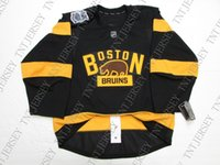 Wholesale bruins winter classic jersey for sale - Group buy Cheap custom BOSTON BRUINS WINTER CLASSIC JERSEY WITH PATCH stitch add any number any name Mens Hockey Jersey XS XL
