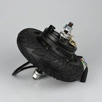 moteur à roues 36v achat en gros de-Moteur de moyeu de roue de planche à roulettes électrique 24V 36V 48V CC sans balais sans dents 8
