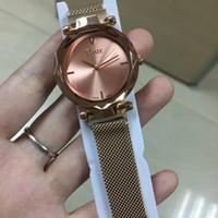 стальной браслет из нержавеющей стали оптовых-2019 новая модель дизайнер часы мода женские часы из нержавеющей стали женщины часы браслет наручные часы топ бренд женские часы из нержавеющей стали