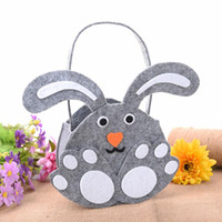 Wholesale easter candy eggs resale online - Easter Gift Candy Bag Cute Easter Day Handbags Cartoon Portable Egg Bags For Children s Gift Bags