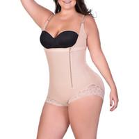 a0a7ccf0359b4 Wholesale plus size thong bodysuit for sale - Women Lingrie Adjustable  Straps Thong Shapewear Bodysuit Open