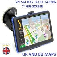 Wholesale car gps online - Details about inch Car Truck GPS SAT NAV satellite navigation System Navigator GB