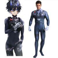 Darling In The Frankxx HIRO Bodysuit Cosplay Costumes 3D Printed Zentai Suit Halloween Catsuit