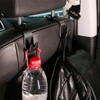 produtos carregados venda por atacado-20 kg de suporte de carga Universal Car Voltar traseira do assento Hooks Organizador Hanger para saco de pano Acessórios para automóvel Auto Interior produtos
