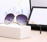regalos de boda de cerámica al por mayor-2019 NUEVA MODA conjunto completo de gafas de sol de las mujeres de las gafas de sol de las gafas de sol al aire libre con mejores ventas que envían gratis 0316.