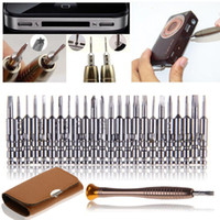 Wholesale watch opening tool resale online - Mini Precision Screwdriver Set in Electronic Torx Screwdriver Opening Repair Tools Kit for iPhone Camera Watch Tablet PC