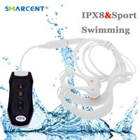 Wholesale sport clip for mp3 player resale online - 8GB GB IPX8 Sports Waterproof Mp3 Player Earphone Mp3 for Swimming Surfing Underwater Surf Scuba Diving with FM Clip Music