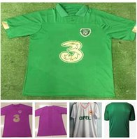 Wholesale ireland football jersey for sale - Group buy Personality Ireland Customized men Collins McGoldrick Thai Quality jersey Custom football wear Discount Cheap yakud