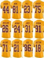d9d634ed REDSKIN Washington #21 Sean Taylor #8 Kirk Cousins #24 Josh Norman #44 John  Riggins #86 Men Women Youth Color Rush Elite Football Jerseys