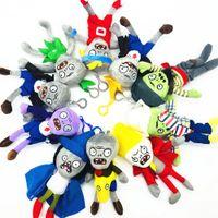 ingrosso bambole giocattolo zombie-10Pcs Plants VS Zombies Peluche Zombie Toys Bambole di peluche 18cm / 7Inch Tall