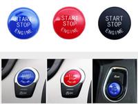 Wholesale Car Engine Start Stop Switch Button Replace Cover Fit For BMW F10 F25 F15 F25 F30 F48 E60 E70 E71 E90 E92 E93 X1 X3 X4 X5 X6