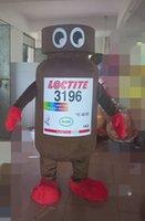 personagem de desenho animado de garrafa venda por atacado-Frasco de cerveja traje da mascote personagem de desenho animado anime fancy dress traje do carnaval roupas especiais de férias para a festa de Halloween