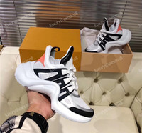 parte superior arqueada al por mayor-Diseñadores de lujo para hombre zapatos para mujer zapatillas de deporte Archlight viejo papá zapatilla de deporte de calidad superior para caminar zapatos de vestir Chaussure 35-45