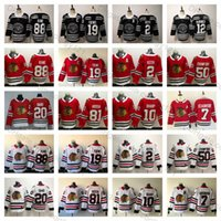 2019 Winter Classic Chicago Blackhawks 19 Jonathan Toews 88 Patrick Kane 2  Duncan Keith 7 Brent Seabrook 50 Corey Crawford Hockey Jerseys 9f094d257