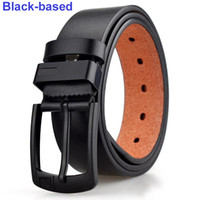Wholesale buckle belt resale online - Outdoor New belt Pin Buckle leather belts for men casual mens belts good quality waist belt