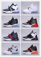 Wholesale spring damping for sale - Group buy 2019 new Air0 Force Ma full leather men s classic cushion damping sports running shoes c ladiesMedium high help training casual shoes