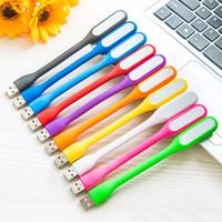 hafif defter toptan satış-USB Notebook Tablet Güç Bankası USB Gadets L301 Ücretsiz Nakliye için Lamba LED Işık Taşınabilir Esnek Bükülebilir Xiaomi USB Işık LED