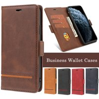 Wholesale wallet mixed for sale - Group buy 30 Mix Sale Retro Business Style Wallet Phone Case for iPhone Pro X XR XS Max Plus and Samsung Note Pro S8 S9 S10 Plus