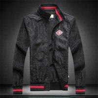siyah askeri giyim toptan satış-2019 Moda Tasarımcısı Hoodie Erkek Ceket Giyim Askeri Harita Yansıtıcı Ceketler Kapşonlu Siyah Erkek Lüks Ceketler Hoodies Noctilucent Boyutu