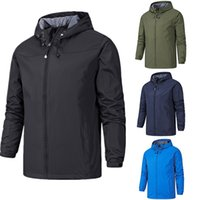 Wholesale waterproof windproof breathable jacket for sale - Group buy Keep Warm Waterproof Outdoor Jackets Man Four Seasons Thin Pizex Radiation Protection Monolayer Fishing Loose Coat Jacket Popular qjH1