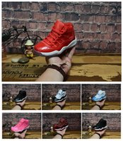 Wholesale red christmas shoes for girls resale online - 2019 Designer Basketball Shoes Gym Red Gamma Blue Bred Concord Space Jam Infrared Georgetown s Shoes For Men Boys Girls Women