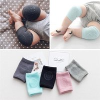 Wholesale legs warmers for sale - Baby Kids Anti Slip Crawling Elbow Cushion Knee Pads Crawl Knee Protector Infant Leg Warm Safety Protector Child Elasticity Kneepad A42205