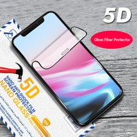 Wholesale bendable glasses for sale - Group buy Bendable Glass Fiber Phone Screen Protector For iPhone D Phone Screen Cover Soft Glass Fiber Protector