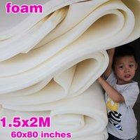 подушки из пенорезины оптовых-Высокая плотность пены Фирма Foam Обивка подушки сиденья Матрас Rubber Slab Губка Размер 60 «x80» / 150см X 200см
