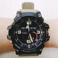 Wholesale mens wristwatches top brands resale online - Hot Men Top Brand Sports Wristwatch G Military Fashion mudmaster Waterproof watches Mens Master of G Watch With Box