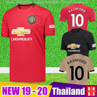 Wholesale united new jersey resale online - New Manchester LUKAKU MARTIAL POGBA united Soccer Jerseys RASHFORD Kids jersey Man kit Football Shirt Utd Tops equipment
