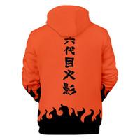 naruto gerações venda por atacado-Novo Mens Pullover hoodies Lazer 3D Impressão Digital Naruto Manga Longa Juventude Pop Quatro gerações E Seis Gerações De Naruto Fleece