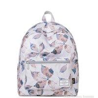 14 moda dizüstü bilgisayar çantası toptan satış-Moda Bayan Sırt Çantası Koleji Okul Çantaları Kız Seyahat Sırt Çantası Tasarımcı 14 Inç Laptop Çantası Ücretsiz Kargo