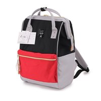 Wholesale anello japan resale online - Japan original anello Backpacks For man s and women s Canvas Waterproof schoolBag Female Lightweight Ring travel BackpackMX190903