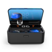 наушники bluetooth china оптовых-Дешевые оптовые Китай Bluetooth версии 5.0 мобильные беспроводные наушники наушники ES01 использовать для всех смартфонов Bluetooth