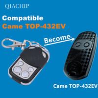 duplicador de controle remoto clone venda por atacado-433 Cópia CAME TOP-432EV Duplicador 433.92 mhz controle remoto Universal Garage Door Gate Fob Clonagem Remota 433mhz código fixo