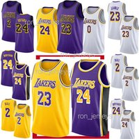 Wholesale basketball jerseys shorts for sale - Group buy Los Angeles Jerseys Laker LeBron James Kobe Bryant Kyle Kuzma Lonzo Ball Kobe Bryant Jersey