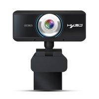 mega mikrofon toptan satış-HXSJ yeni yüksek çözünürlüklü 1080p bilgisayar kamera USB web kamerası, 2 milyon piksel dahili ses emici mikrofon ücretsiz sürücü