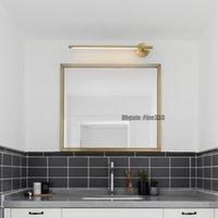 luzes de montagem moderna parede banheiro venda por atacado-Espelho moderno Led luz quente Wall Light Mounted Muro industrial lâmpada Bathroom Light aço inoxidável impermeável